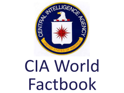 CIA World Factbook – eResources for Allegheny County Public Libraries